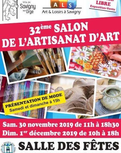 32eme Salon d'Artisanat d'Art